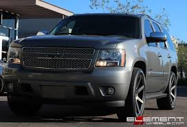 22 inch DUB Future Black/Machined w/ Dark Tint on 2007 Chevy Tahoe ...