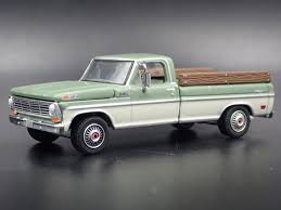 1969 ford ranger f100 long bed pickup truck farm ranch hitch 1/64