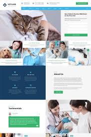 Veterinary Website Design Inspiration Vetcare Vet Clinic Multipage Html5 Website Template