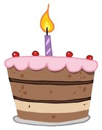 Image result for free clipart birthday cake
