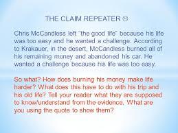 Chris Mccandless Diary