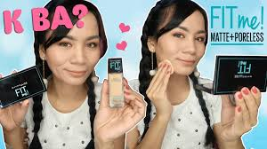 from the brand is their maybelline fit me foundation i like it for everyday wear because it truly matches my oily sensitive and acne e skin