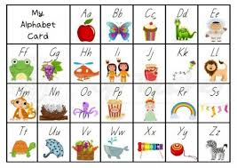 Alphabet Desk Chart To Use For Extra Support When Writing
