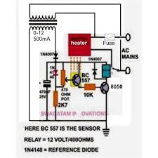diy temperature controller circuit diagram