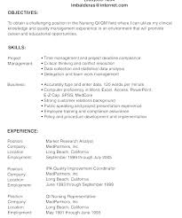 Resume Career Objective Example Thrifdecorblog Com