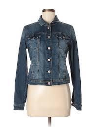 Check It Out Kensie Denim Jacket For 25 99 On Thredup