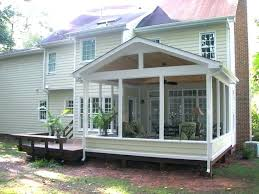 build a screen room on deck how to build a screened porch on a deck screened