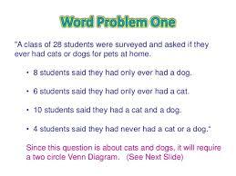 Venn Euler Diagram Problems Sets And Venn Diagrams Word Problems Wiring Diagram