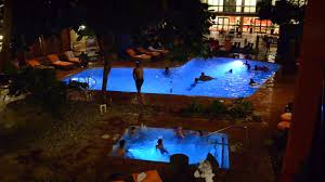 inground pools at night. Hotel Cascada Waterpark Indoor Swimming Pool At Night Inground Pools