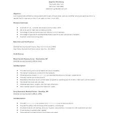 Beautiful Sample Certified Nursing Assistant Resume Objective ...