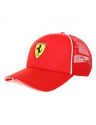 Gorra Puma Ferrari Fanwear Trucker Rojo