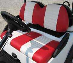 custom golf cart seats custom upholstery for your club car yamaha or e z go