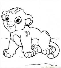 Small Picture Baby Lion Coloring Pages Printable free printable coloring page