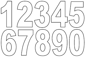 number templates 1 10 numbers templates free ender realtypark co