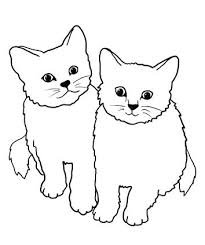 Fat Cat Coloring Pages Printable