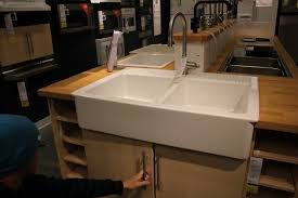 Ikea Wood Countertop Review Home Design Appealing Ikea Farmhouse Sink For Your Kitchen Design