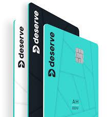 Deserve Credit Cards Build History And Get Rewards