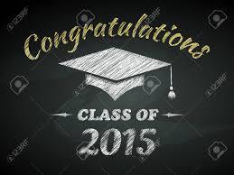 Congratulations Poster Class Of Graduation Congratulations Poster Vector Illustration