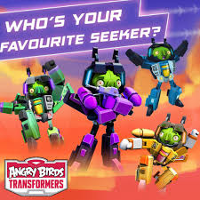 Who's your favourite Seeker? Comment... - Angry Birds Transformers ...