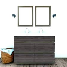 cutler kitchen and bath cabinets vanity with double bowl in ash canada