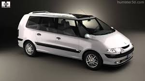 Renault Espace 1996 by 3D model store Humster3D.com - YouTube