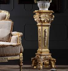 italian wood furniture. 2018 Italian French Antique Furniture Solid Wood Hand Carving Leaf Gilding Vase Stand From Fpfurniturecn, $716.79 | Dhgate.Com W
