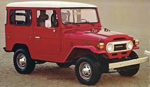Rugged and reliable: 1978 Toyota Land Cruiser brochure | Hemmings ...