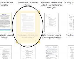 Microsoft Resume Template Word 2010 Get Resume Template Microsoft