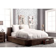 rustic platform beds with storage. Delighful Platform Ideas Rustic Wood Platform Bed Including Stunning Storage King Queen 2018 Intended Beds With R