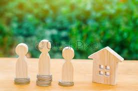 Miniature People Bride And Groom With Coins Money At Home, Stock Photo |  Crushpixel