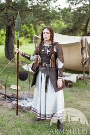 viking s leather armour shieldmaiden available in brown leather black leather by meval armstreet