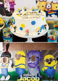 Minions Birthday Party Cake Themed