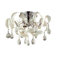 upc 748119086606 image for elk lighting zebula 12 light semi flush white 31545