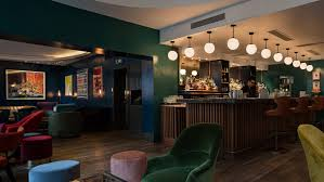 commercial bar lighting. The Groucho Club, Soho Commercial Bar Lighting I