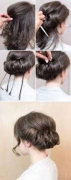 Hair Style For Medium Hair best 25 simple buns for medium hair ideas hair 2717 by wearticles.com