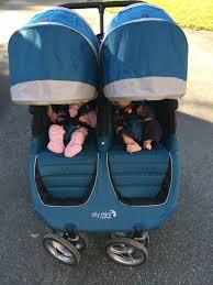 city mini double canopy cons car seat