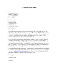 Cover Letter Design Polite Sample Cover Letter For Volunteer