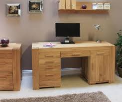 oak desks for home office. Atlas Twin Pedestal Home Office Desk - CMR06B Oak Desks For