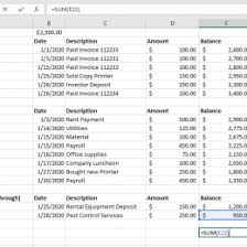 Simple General Ledger A Simple General Ledger Reconciliation Howto With Example