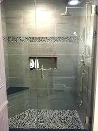 wood tile shower walk in ideas tiles ceramic look with porcelain marble floor wood tile shower