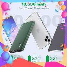 Sạc Dự Phòng TOPK I1006 10000mAh Cho iPhone Huawei Samsung Xiaomi Oppo Vivo  Realme Hai Cổng Có Màn Hình Điện Tử chính hãng 218,900đ