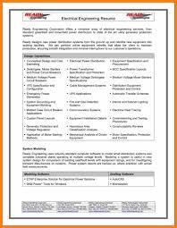 8 Engineering Cv Format Download Intern Resume