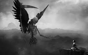 無料壁紙死神をデザインしたかっこいいイラスト画像まとめ鎌ローブ