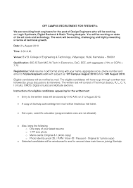 Sample Email Cover Letter It Professional