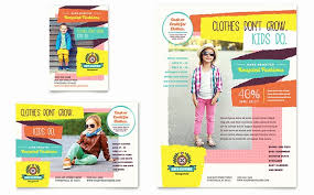 Template For Kids Brochure Luxury Free Tri Fold Brochure Template ...