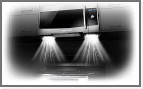 over stove lighting. Samsung Microwave Lighting Example Over Stove E
