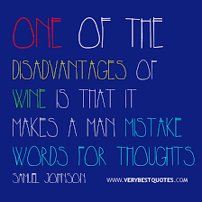 Funny Quote Of The Day: Disadvantages of wine - Inspirational ... via Relatably.com