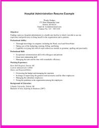 Resume Hospital Volunteer Duties Resume