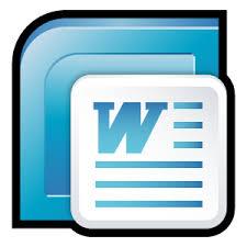 microsoft word icon microsoft word icons free icons in sleek xp folders icon search