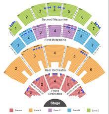Reba Tour Tickets Seating Chart Caesars Palace End